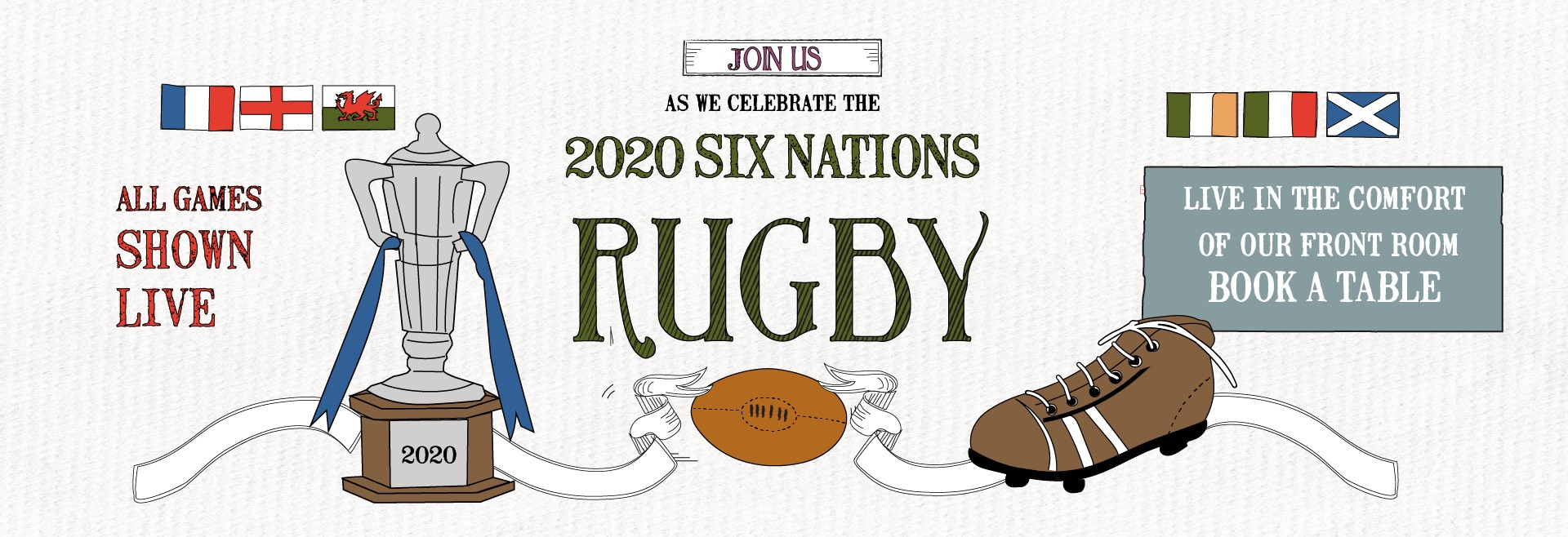 Six Nations at The Market Tavern